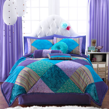 jcpenney.com | Seventeen® Crystal Violet Comforter Set & Accessories