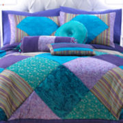 CLOSEOUT! Seventeen® Crystal Violet Accent Pillows