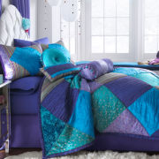 CLOSEOUT! Seventeen® Crystal Violet Bedskirt