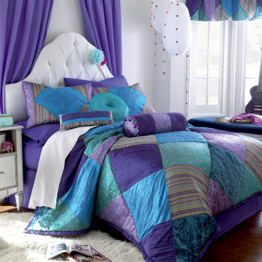 jcpenney.com | CLOSEOUT! Seventeen® Crystal Violet Comforter Set & Accessories
