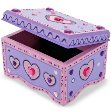 jcpenney.com | Melissa & Doug® Decorate Your Own Jewelry Box