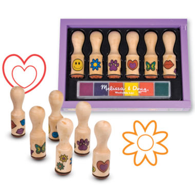 jcpenney.com | Melissa & Doug® Happy Handle Stamp Set