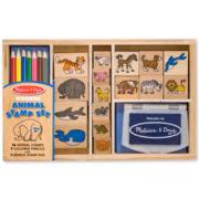 Melissa & Doug® Animal Stamp Set