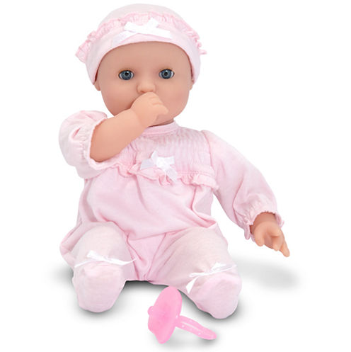 """Melissa & Doug® 12"""" Jenna Baby Doll"""