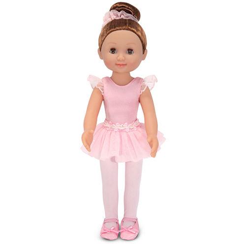 """Melissa & Doug® Victoria 14"""" Ballerina Doll"""