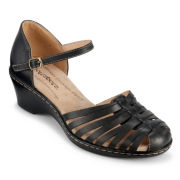 softspots® Tatianna Huarache Leather Sandals