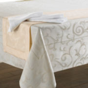 Chris Madden® Damask Table Linens