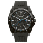 Bulova® Precisionist Black Carbon Fiber Watch