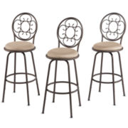 Florence Set of 3 Adjustable Barstools