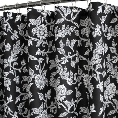 jcpenney.com | Park B. Smith® Floral Swirl Fabric Shower Curtain