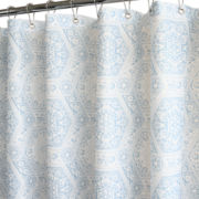 Venetian Tiles Fabric Shower Curtain