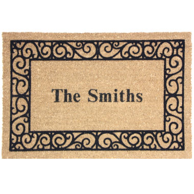 jcpenney.com | Personalized Coir Outdoor Rectangular Doormats