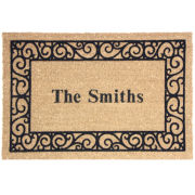 Personalized Coir Outdoor Rectangular Doormats