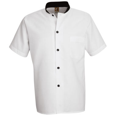 jcpenney.com | Chef Designs® Black-Trimmed Cook Shirt–Big & Tall