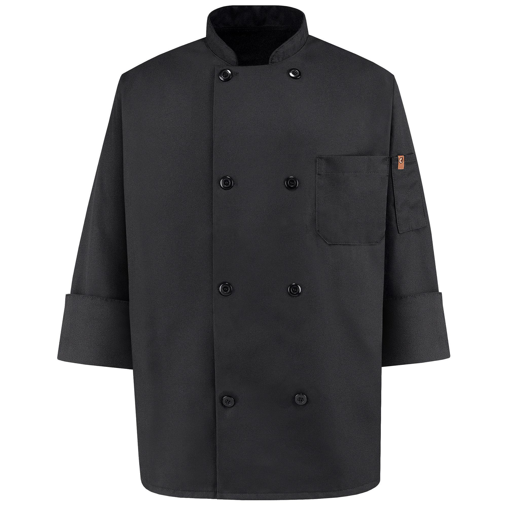 Chef Designs 8 Pearl Button Chef Coat plus size,  plus size fashion plus size appare