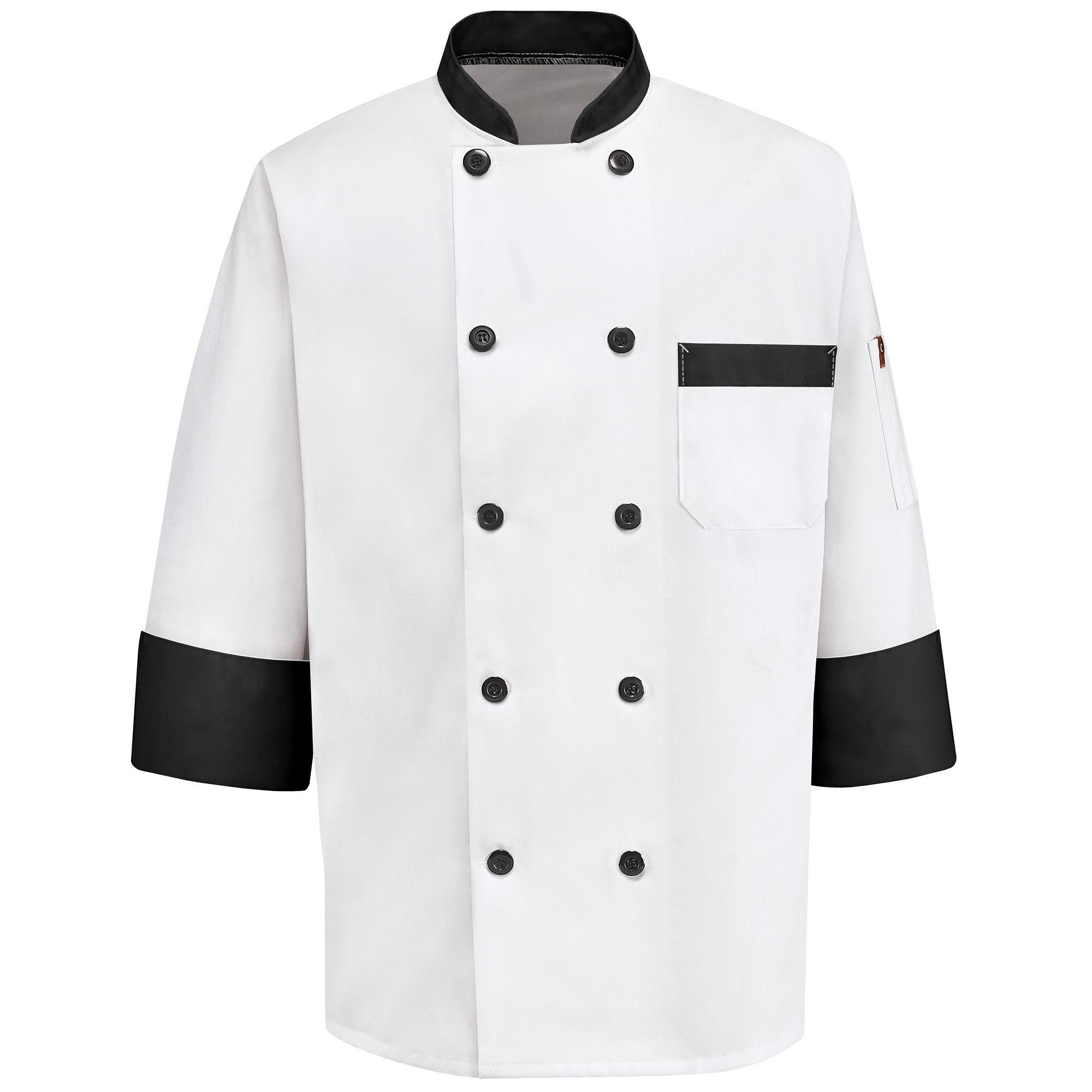Chef Designs Garnish Chef Coat plus size,  plus size fashion plus size appare