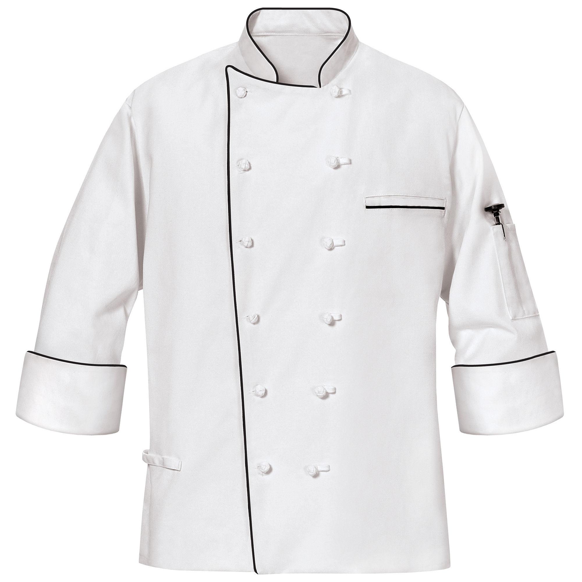 Chef Designs Master Chef Coat-Big & Tall plus size,  plus size fashion plus size appare