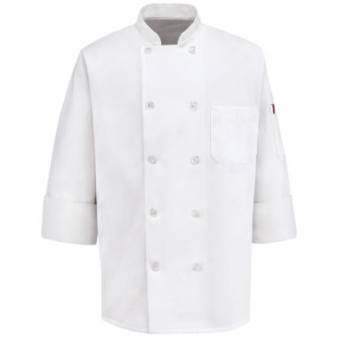 jcpenney.com | Chef Designs® 10-Button Chef Coat–Big & Tall