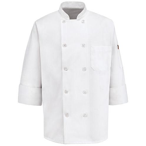 Chef Designs® 10-Button Chef Coat–Big & Tall