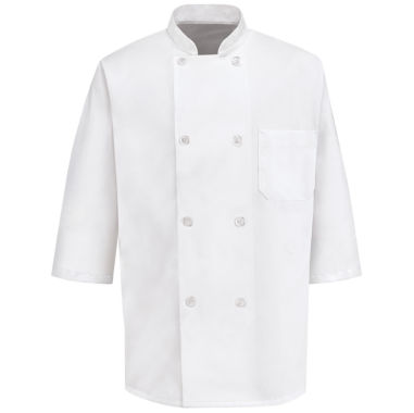jcpenney.com | Chef Designs® Half Sleeve Chef Coat–Big & Tall