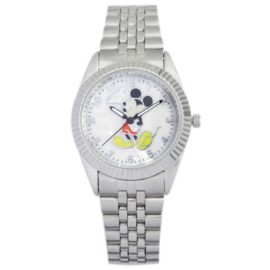 jcpenney.com | Disney Mens Stainless Steel Mickey Watch