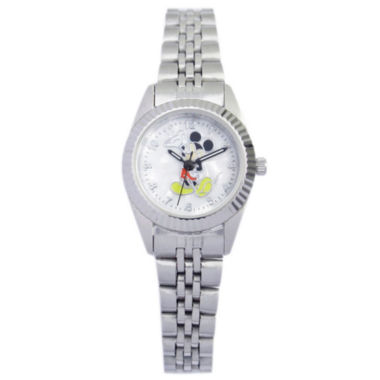 jcpenney.com | Disney Womens Stainless Steel Mickey Watch