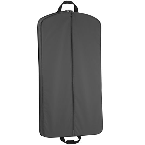 WallyBags Garment Bag with Two Pockets
