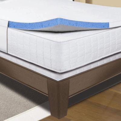 Sleep Innovations Gel Memory Foam Mattress Topper