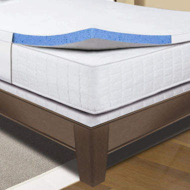 jcpenney.com | Sleep Innovations® Gel Memory Foam Mattress Topper