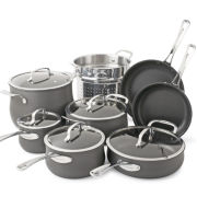 Cuisinart® Contour 13-pc. Hard-Anodized Cookware Set + BONUS