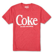 Coke The Real Thing Graphic Tee