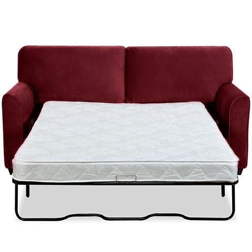 """Possibilities Sharkfin-Arm 75"""" Full Sleeper Sofa"""