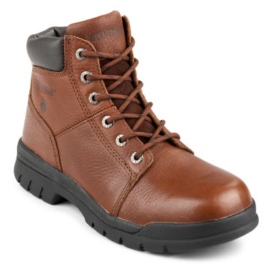 "jcpenney.com | Wolverine® Marquette Mens 6"" Slip-Resistant Work Boots"