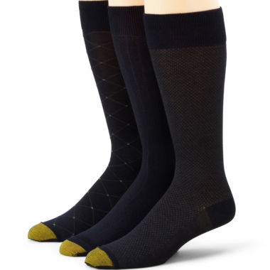 jcpenney.com | Gold Toe® 3-pk. Over-the-Calf Rayon from Bamboo Socks