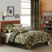 Special Forces Camouflage Complete Bedding Set with Sheets