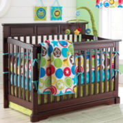 Rockland Hartford Flat-Top Crib - Coffee