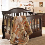 Savanna Grayson Convertible Crib - Espresso