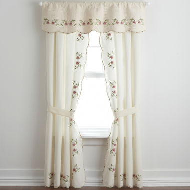 jcpenney.com | Home Expressions™ Lynette 2-Pack Curtain Panels