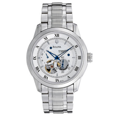 jcpenney.com | Bulova® Mens Automatic Skeleton Dial Watch 96A118