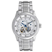 Bulova® Mens Automatic Skeleton Dial Watch
