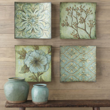 jcpenney.com | Set of 4 Rayne Collage Wall Art