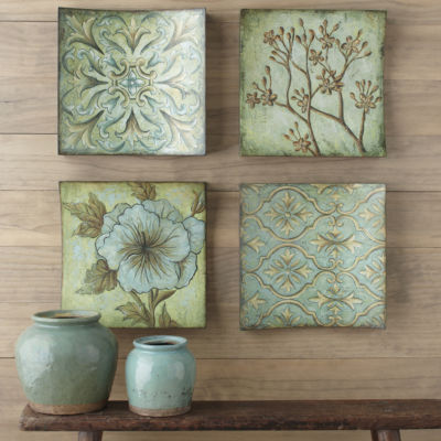 Collage Wall Art set of 4 rayne collage wall art - jcpenney