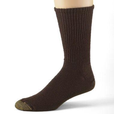 jcpenney.com | Gold Toe® 3-pk. Casual Cotton Fluffies® Crew Socks