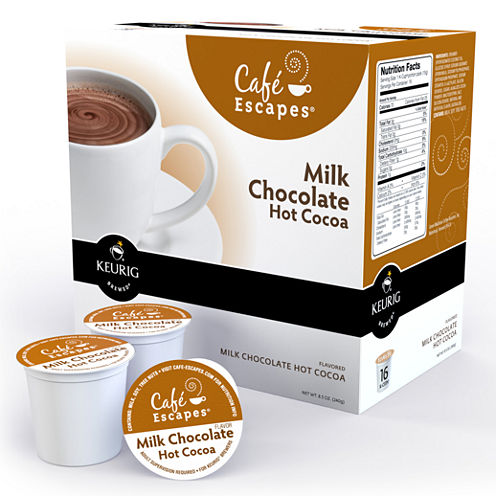 K-Cup® Milk Chocolate Hot Cocoa Packs by Cafe Escapes