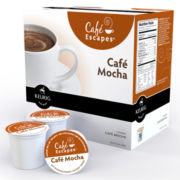 K-Cup® 18-ct. Cafe Mocha Coffee by Cafe Escapes Pack