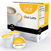 K-Cup® Chai Latte Packs by Cafe Escapes