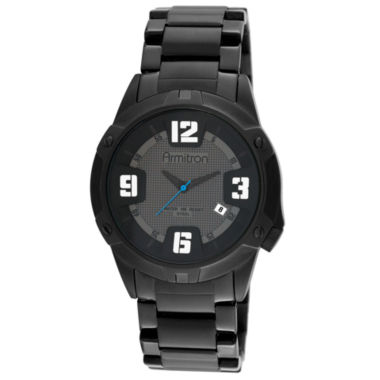 jcpenney.com | Armitron® Mens Black Stainless Steel Watch