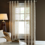 Linden Street™ Vineyard Grommet-Top Semi-Sheer Panel