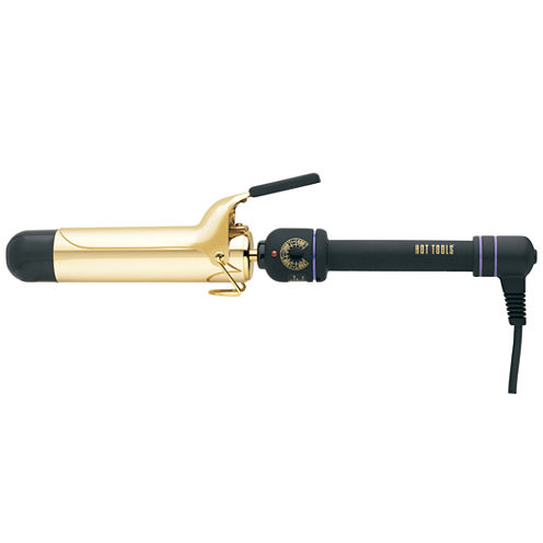 """Hot Tools® 1.5"""" Gold Curling Iron"""