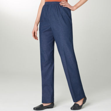 jcpenney.com | Alfred Dunner® Chambray Pants - Petite